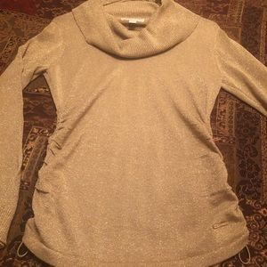 Michael Kors Gold Metallic Sweater